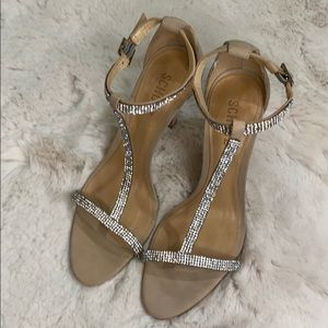 SCHUTZ Bellini T-Strap High Heel Sandal